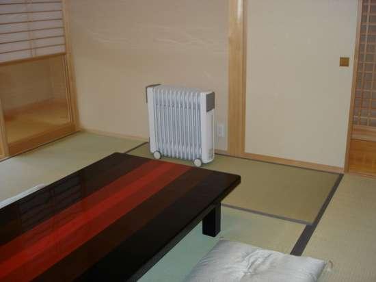和室にもオイルヒーター